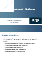 JNCIS SEC PPT - Firewall Authentication  - Coruse 10.a