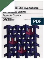 El desarrollo del capitalismo en América Latina Agustin Cueva completo legible