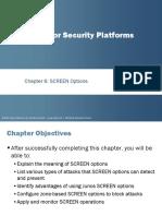 JNCIS SEC PPT - Screen Options - Coruse 10.a