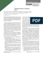Inorganic Chemistry 2003