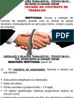 Aula Tipos de Rescisão Do Contrato de Trabalho (1)