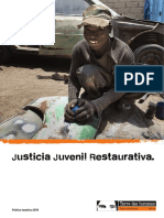 justicia juvenil restaurativa