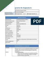 Psiquiatria II 2018-1-S (sección 1)