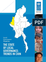 Report Local Governance Mapping Chin UNDP May2014