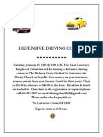 Defensive Driving Course 1-19-19a