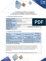 Guía de actividades y Rubrica de evaluación - Fase 3. Aplicar modelos de Pronósticos y Planeación Agregada