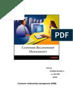 Customer Relationship Management Report