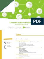Documento de Apoyo 4-18 CREANDO CULTURA INCLUSIVA. Educación Especial