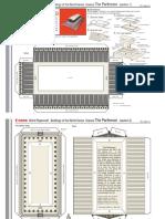 Papercraft Recortable Miniatura Parthenon_e_a4