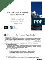 Aula 03 - Instrumentos e Técnicas de Gestão de Projectos