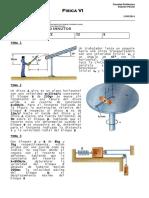 Fisica 6 - Prueba parcial