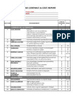 Cost Meeting Checklist & Templates