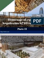 Edgar Raúl Leoni - Homenaje Al Equipo Arquitectos b720 en Berlín, Parte II