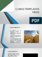CLIMAS TEMPLADOS FRIOS