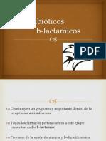 Antibióticos b Lactamicos