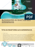 Bloqueadores de Receptore Alfa Adrenergicos