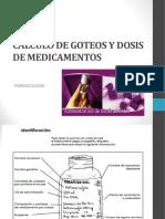 c Lculo de Goteos y Dosis de Medicamentos