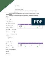 Desigualdades cuadráticas   ax2