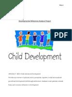 child development final project