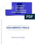 [POR] Encontro de Promotores Vocacional - DOCUMENTO FINAL