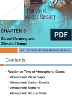3. Global Warming and Climate Change