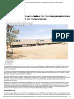 Ventajas e Inconvenientes de Los Megaca...Sporte de Mercancías - ElEconomista.es