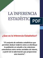 La Inferencia Estadística.