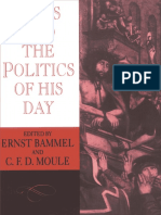 Ernst Bammel, C. F. D. Moule - Jesus and the Politics of his Day (1985).pdf