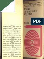 Recnik licnih imena kod Srba, Milica Grkovic.pdf