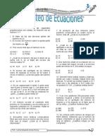 5to y 6to - Planteo de Ecuaciones