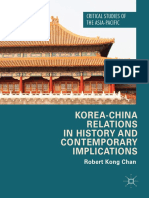 Korea China Relations in History and Contemporary Implications