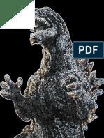 Glowing Godzilla