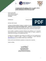 Invitación Unesco