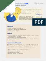 Infografía 1 Boceto de Modelo de Negocio