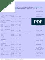 Mercedes Code Descriptors