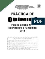 Practica Quimica Bachillerato Tu Medida 01 2018