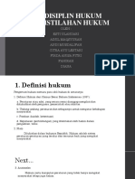 Pp 1 Hukum, Disiplin Hukum Dan Peristilahan Hukum