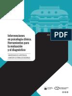 Muniz, A. (Comp) (2018) Intervenciones en Psicología Clínica. Herramientas Para La Evaluación y El Diagnóstico.