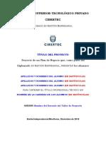 F02-A.- Informe de Proyecto GN