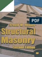 Structural Masonry