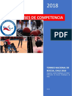 BOCCIA Reglamento de Competencia