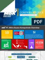 Company Profile PT. Mitra Buana Komputindo (Slide)
