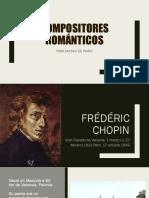 Presentación - Compositores Romanticos