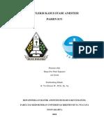Refleksi Kasus ICU - CHF Dengan Oedema Pulmo