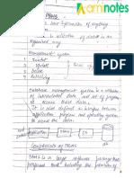 Dbms Handwritten
