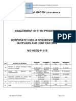 MG-HSEQ-P-018 A2 Corporate HSEQ-S Req for Suppliers & Contractos