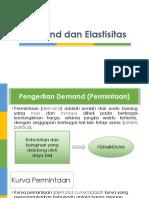 PERTEMUAN 3 - Demand Dan Elastisitas