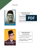 Nama Perdana Menteri Malaysia