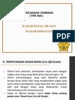 VII- Kadar Batas, SR, Kadar Ekivalen.pdf