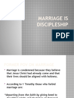 Marriage is Discipleship